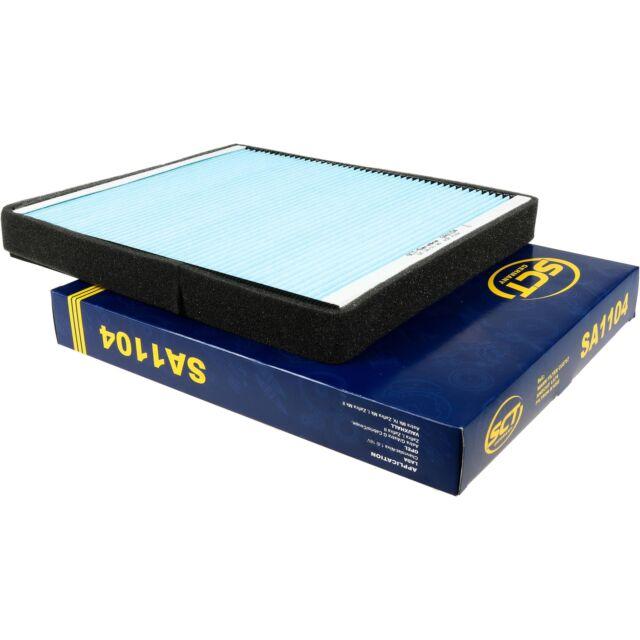 Original SCT Filter Innenraumluft Pollenfilter Innenraumfilter SA 1104