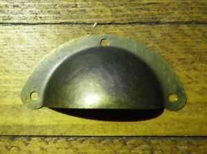 Image Is Loading NEW Pair Of Small Metal Shell Drawer Pull