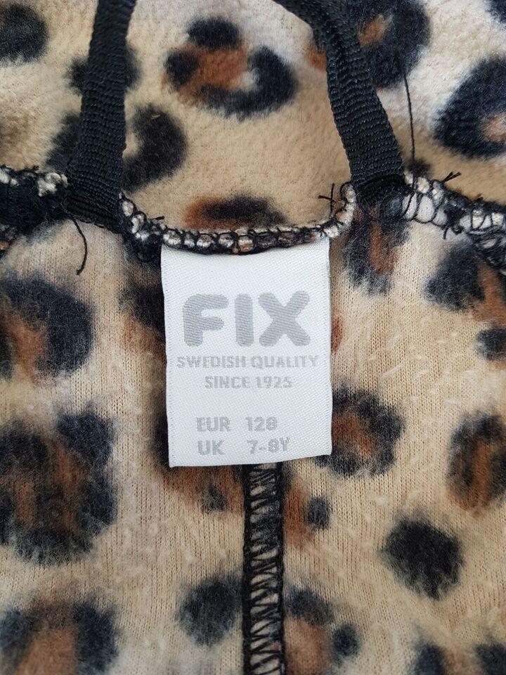 Fleece, Fleece trøje med lynlås, FIX