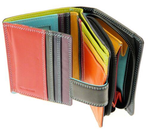 Stivali in Pelle Portafoglio borsa titolare della carta di credito con portamonete contiene 8 carte
