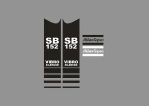 Sticker-aufkleber-decal-ATLAS-COPCO-SB-152