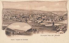 AK Solnhofen viadotto bianchi Castello-Solnhofen lito UNGEL 1910 Franchi fondi