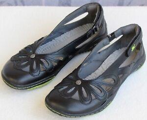 6-JBU-Juniper-Women-Black-Vegan-Floral-Cutout-Slip-On-Ballet-Flat-Moc-Shoe