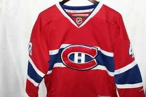 NHL-New-Reebok-Montreal-Canadians-Jersey-Kids-Youth-S-M