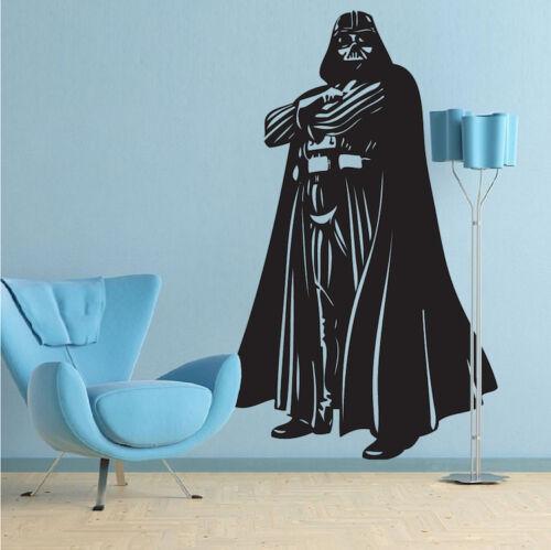 Star Wars Wall Vinyl Dark Side Wall Sticker Darth Vader Full Body Decal g67