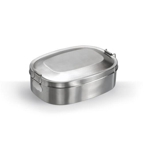 Vesperbox Edelstahl Proviantdose Lunchbox Brotdose Vesperdose Brotzeit Box