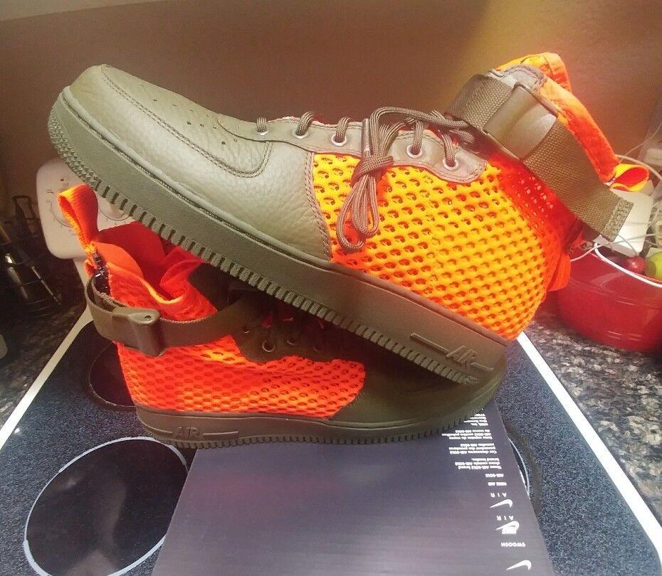 Nike Special Field Air Force 1 Cargo Crimson AA7345 300 sf1 jordan max 97 12.5
