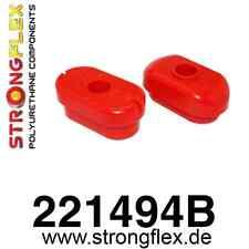 1 PU Drehmomentstütze/Motorlager VW Golf 4, 4x4, GTI, R32 StrongFlex 80ShA rot