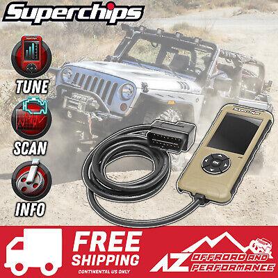 Superchips Flashcal F5 for 2007-2018 Jeep Wrangler JK 3571