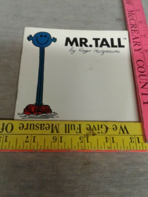 Mr. Tall by M. C. Hargreaves; Roger Hargreaves