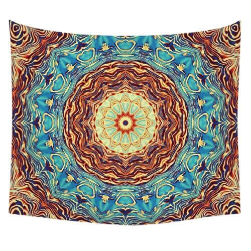 Boho Print Wall Hanging Tapestry Blanket Carpet Yoga Picnic Mat Home Decor  L/&6