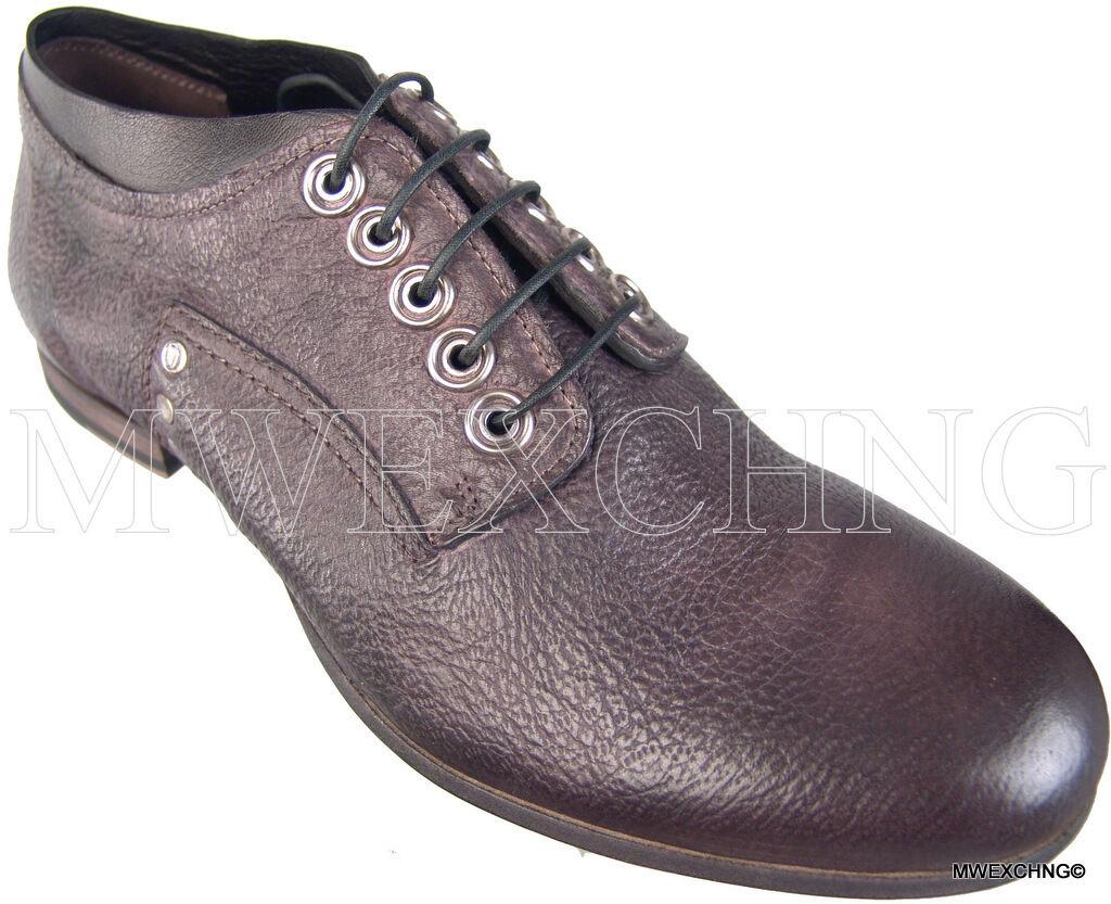 CESARE PACIOTTI US 7 PECCARY SKIN  FASHION botas ITALIAN DESIGNER MENS zapatos