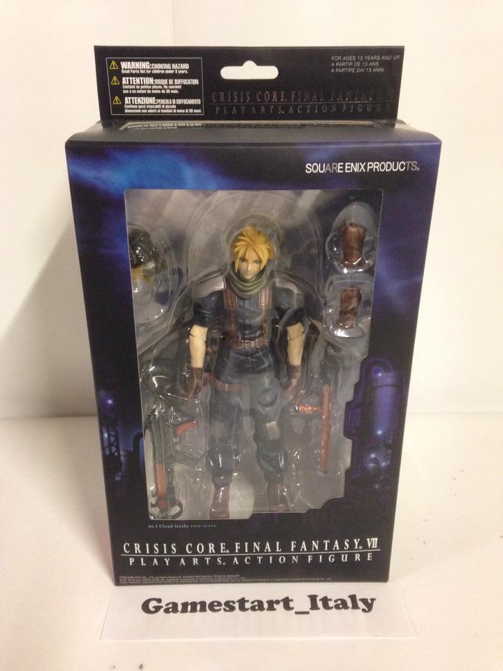 Figura De Acción conflictos en la nube Final Fantasy VII 7 Crisis Core Nuevo Raro