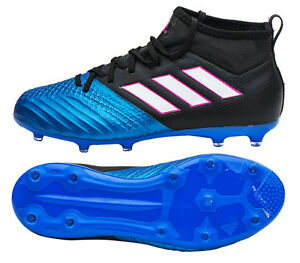 on sale ccfb5 a4382 Image is loading Adidas-Junior-ACE-17-1-FG-BA9215-Soccer-