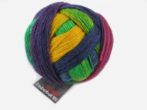 Merinowolle mit Farbverlauf LL=400m 11,90€//100g Schoppel Zauberball 100 /% Wolle