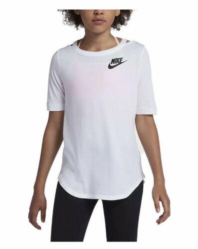 Nike Girls T Shirt Girls Large 939519-100. White