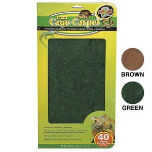 Zoo Med Cage Carpet 18x36 40gal Ebay