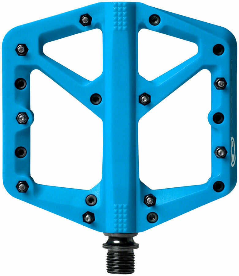 NEW Crank Bredhers Stamp 1 Large Pedals blueee