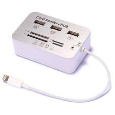 7in1 Camera Connector USB Scheda SD Adattatore per Apple iPad 4 Air Mini 2 RETINA