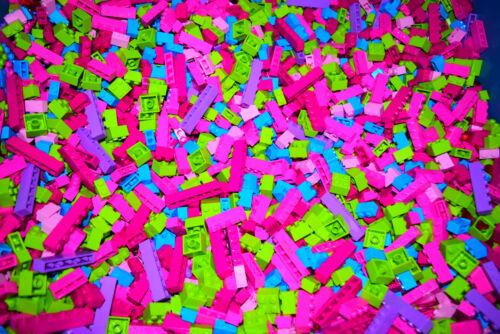 ☀️100 PIECES GIRL COLORS BRAND NEW LEGO LEGOS HUGE BULK LOT BRICKS PARTS RANDOM
