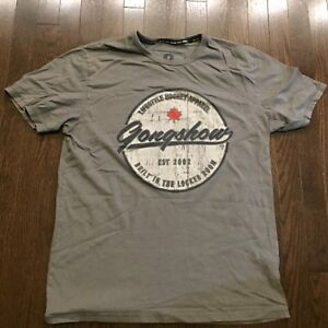 Details About Gongshow Lifestyle Hockey Apparel Shirt Mens Size L