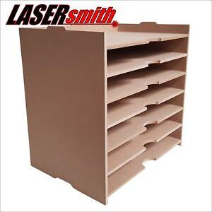 A4 Empilage Papier Meuble De Rangement Pour Craft Etc S Adapte Ikea Kallax Cube Storage Ebay