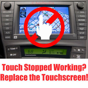 Details about 2010-11 Toyota Prius JBL E7022 Navigation Touchscreen  Digitizer Stopped Working?