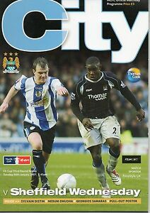 MAN CITY v Sheffield Wednesday fac 3 replay 1612007 - <span itemprop=availableAtOrFrom>Glossop, Derbyshire, United Kingdom</span> - MAN CITY v Sheffield Wednesday fac 3 replay 1612007 - Glossop, Derbyshire, United Kingdom