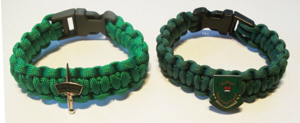 59 Commando Royal Engineers Paracord Wristband - Choice Of 2 Badges Guter Geschmack