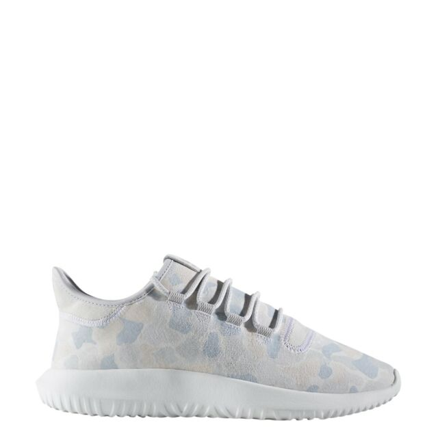 a5d74b09812c8 adidas Tubular Shadow Mens BB8817 Grey White Camo Suede Running ...