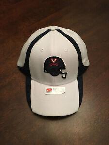 NWT University of Virginia UVA Cavaliers Football Helmet Nike Small Medium Hat