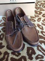 $375 Eastland Bremen Blucher Shoes Made In Maine Usa Vibram Sole Size 11.5
