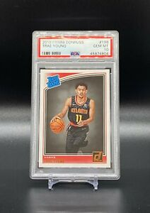 2018-19-Panini-Donruss-Rookie-Rated-Trae-Young-Rookie-198-PSA-10-Hawks-RC