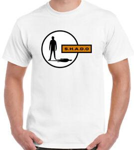 SHADO-Mens-Retro-T-Shirt-UFO-Sci-Fi-Gerry-Anderson-TV-Show