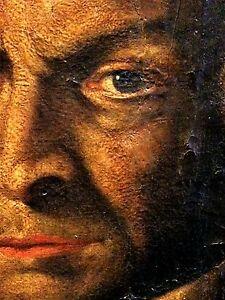 Portrait of petri francisci bersotti. oil on canvas. anonymous. spain. circa 1