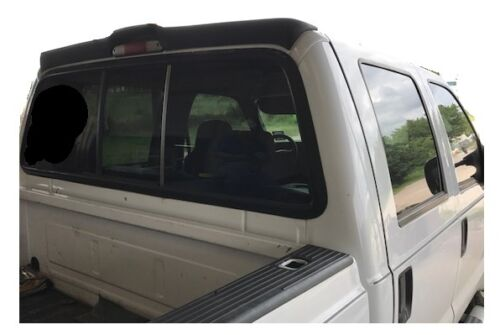 UN-PAINTED PRIME REAR CAB SPOILER FOR 1999-2016 FORD SUPER DUTY CREWCAB F250-550