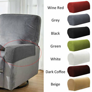 Phenomenal Details About 2 Universal Chair Arm Protector Cover Sofa Couch Armchair Covers Armrest Stretch Download Free Architecture Designs Scobabritishbridgeorg