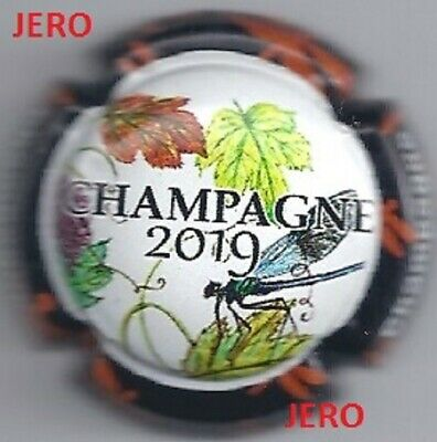 Capsules de champagne Générique Série PUZZLE Libéllules 2019 new Octobre 2019