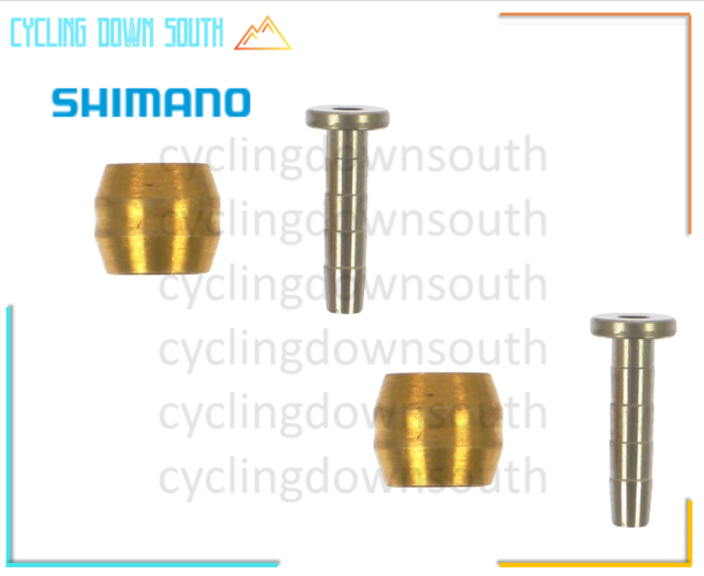 SHIMANO DISC BRAKE BH90-SB-SS-SBS-SBM-SBLS HOSE OLIVE AND CONNECTING INSERT