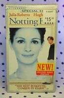 Notting Hill 2000 Vhs Special Edition Julia Roberts Comedy Factory Sealed