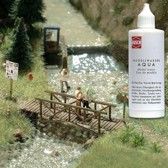 Busch 7589 (4,79€/100Ml) - Aqua Modellwasser 125Ml - Neu