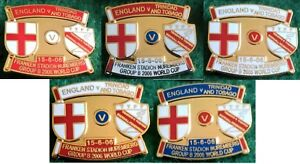 England-v-Trinidad-amp-Tobago-2006-World-Cup-Nuremberg-15-June-2006-Pin-Badge