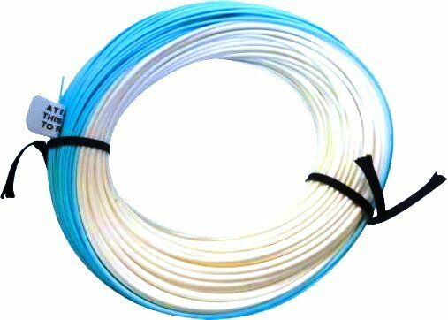 Kinnelle Northwestern SPEY LINE - Floating -  7 8 Wt  -  bluee and White