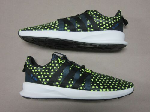 e sneaker stringate Nuovo nere 13 Sl Scarpe Loop Adidas neon giallo Chromatch taglia BqnpfwSg