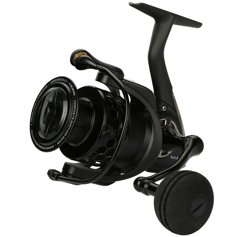 Spinning Fishing Reel 5.2 1 Drag System Carp Fishing Wheel Freshwater Saltwater