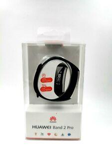 Huawei Band 2 Pro Fitnesstracker Pulsmesser GPS Bluetooth Schwarz