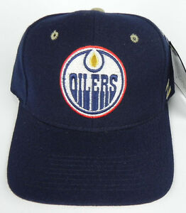 EDMONTON-OILERS-NAVY-NHL-ZEPHYR-SNIPER-VINTAGE-FITTED-SIZED-Z-CAP-HAT-NWT