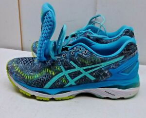 Details about Asics Gel-Kayano T6A5N Green Mesh Athletic Sneaker Running  Women's Shoes 8M 39,5
