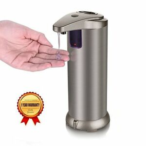Dispensateur-Savon-Liquide-Automatique-3-Modes-sans-Contact-par-Capteur-Infra