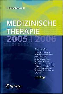 Medizinische Therapie 2005/ 2006 von Jürgen Schölmerich | Buch | Zustand gut